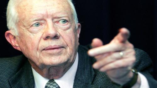 El cáncer  de Carter hizo metástasis en el hígado y después pasó al cerebro.